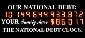 new debt clock