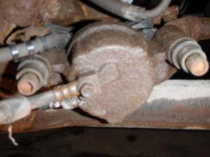 Hex Bolts on back of brakes