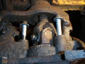 Removing Rotors Bolts